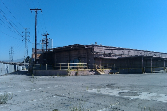 Pre demolition industrial facility location.
